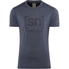 super.natural Essential I.D. t-shirt Heren blauw